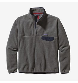 Patagonia Patagonia - Polar homme lightweight synchilla snap-t nickel w/navy blue