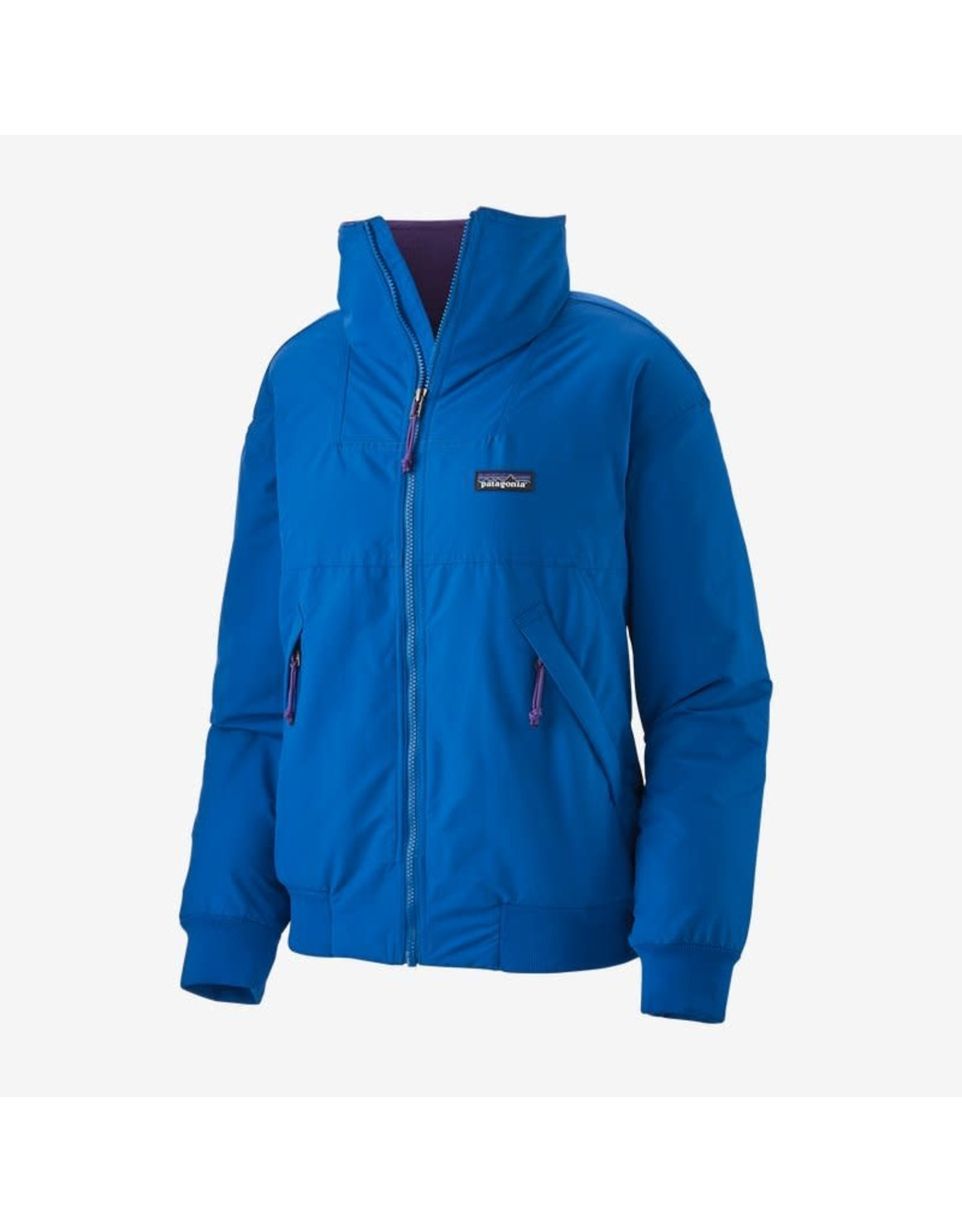 Patagonia Patagonia - Manteau femme shelled synchilla alpine blue