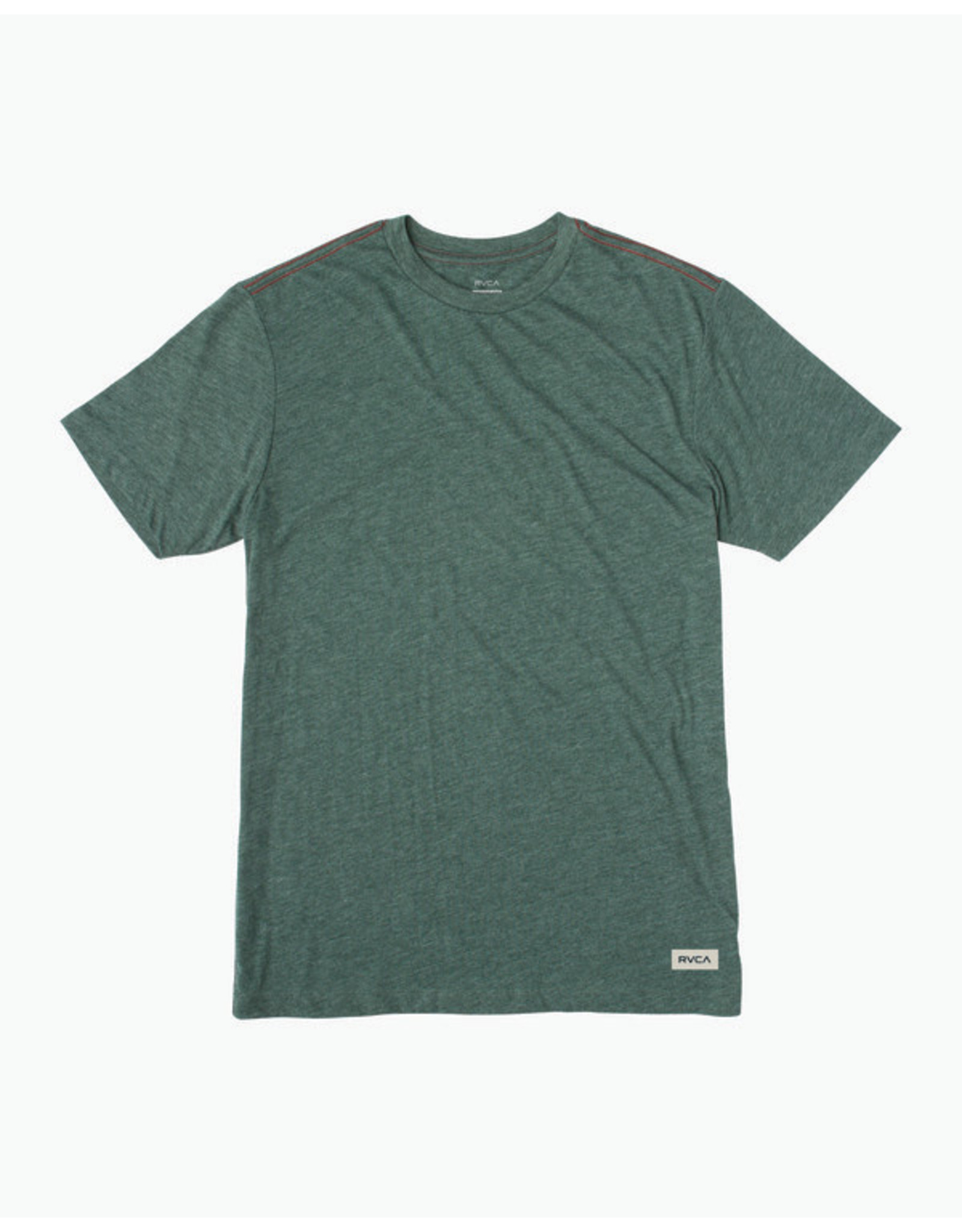 rvca Rvca - T-shirt homme solo label sequoia green
