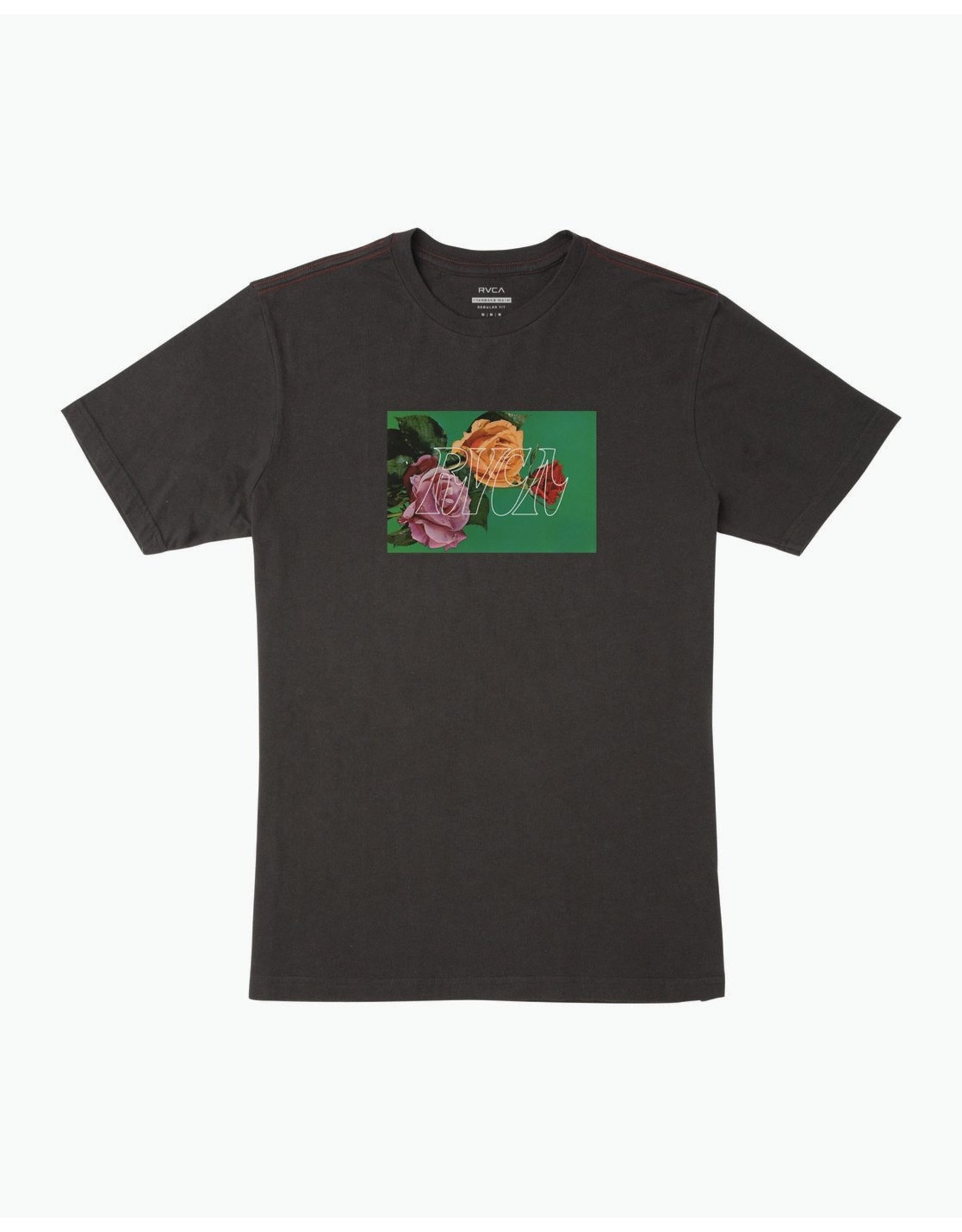 rvca Rvca - T-shirt homme flora pirate black