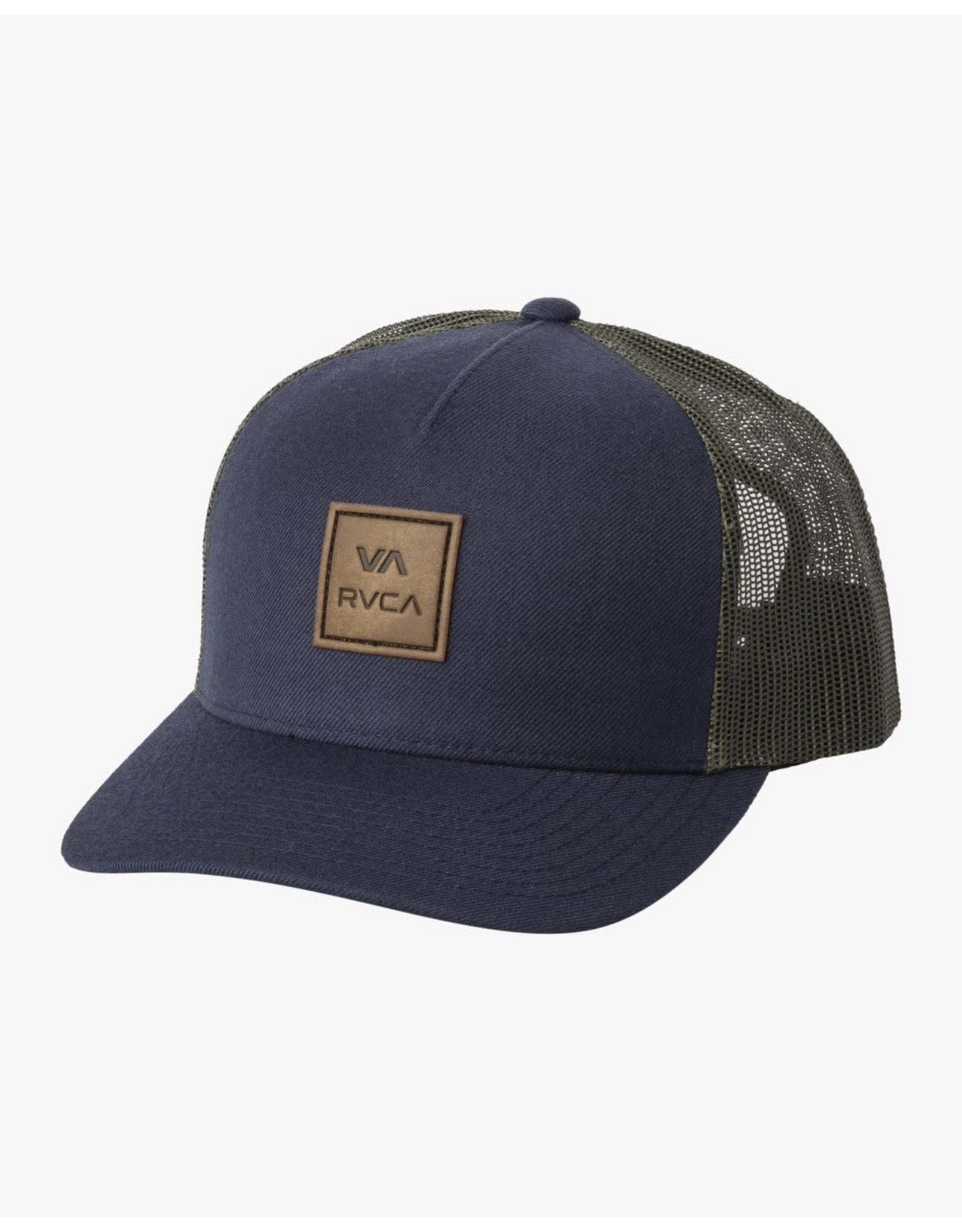 rvca Rvca - Casquette homme all the way navy w/green