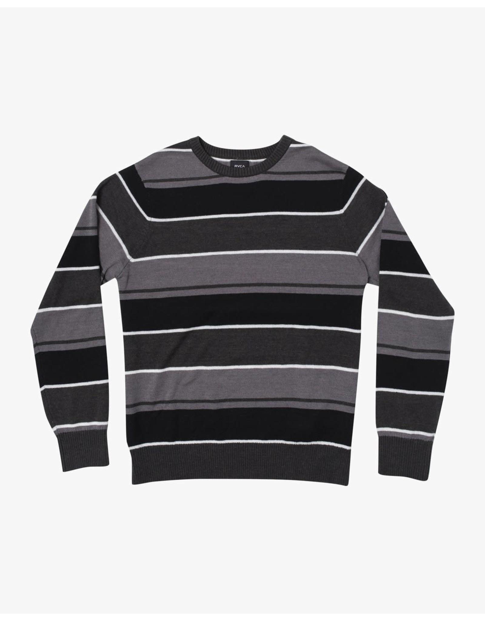 rvca Rvca - Pull homme alex stripe rvca black