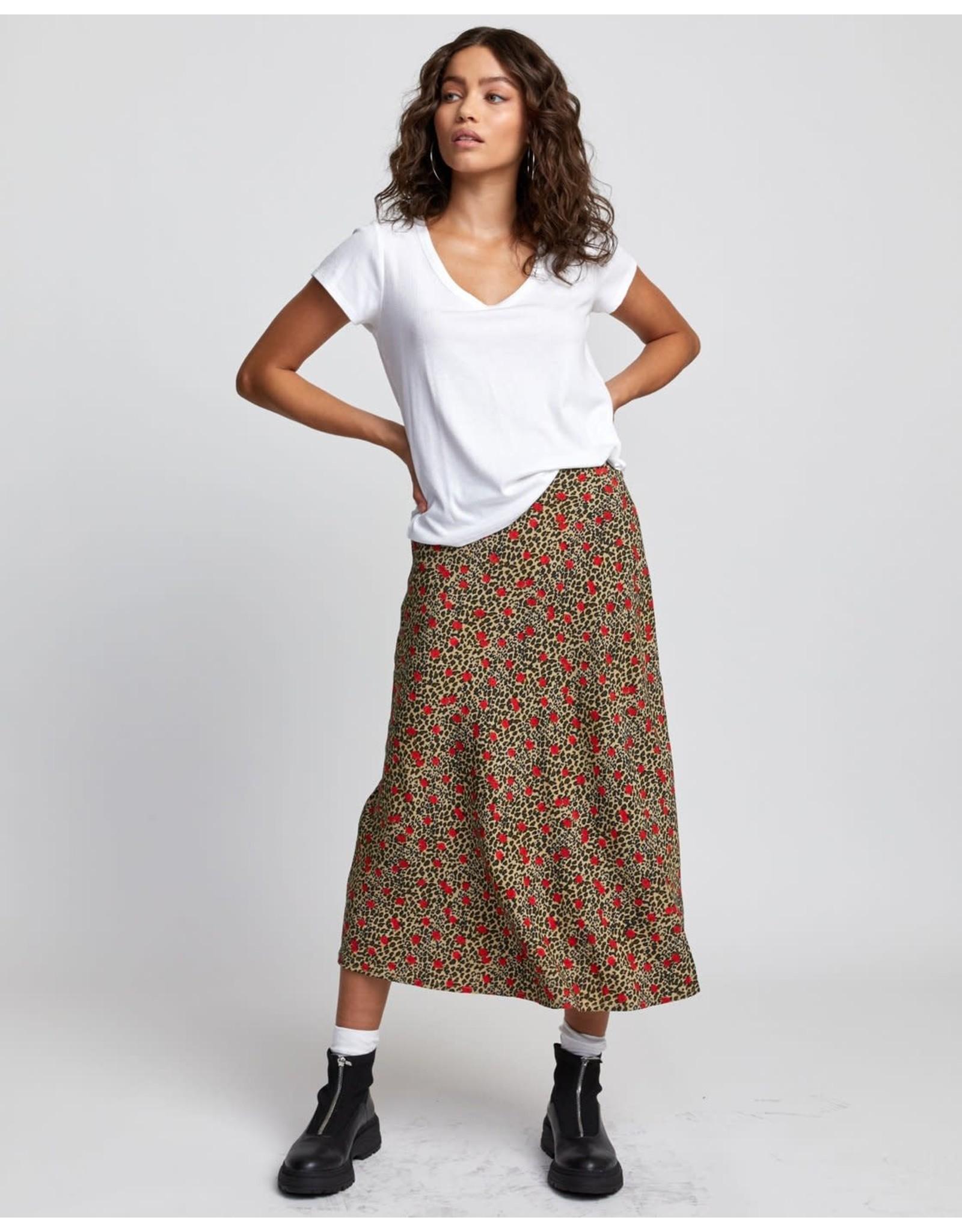 rvca Rvca - T-shirt femme ash off white