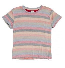 rvca Rvca - T-shirt femme recess 3 gunmetal