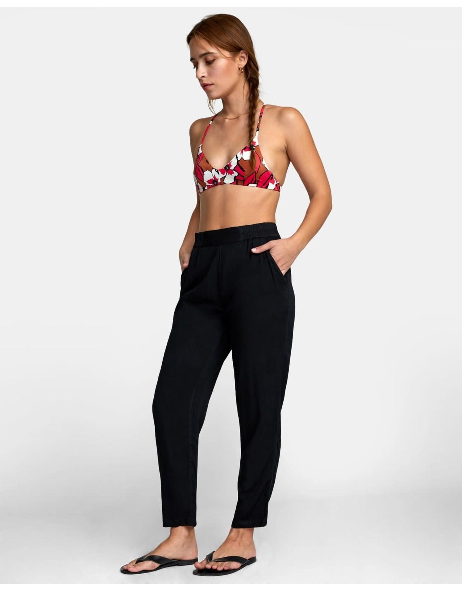 rvca Rvca - Pantalon femme manila elastic black