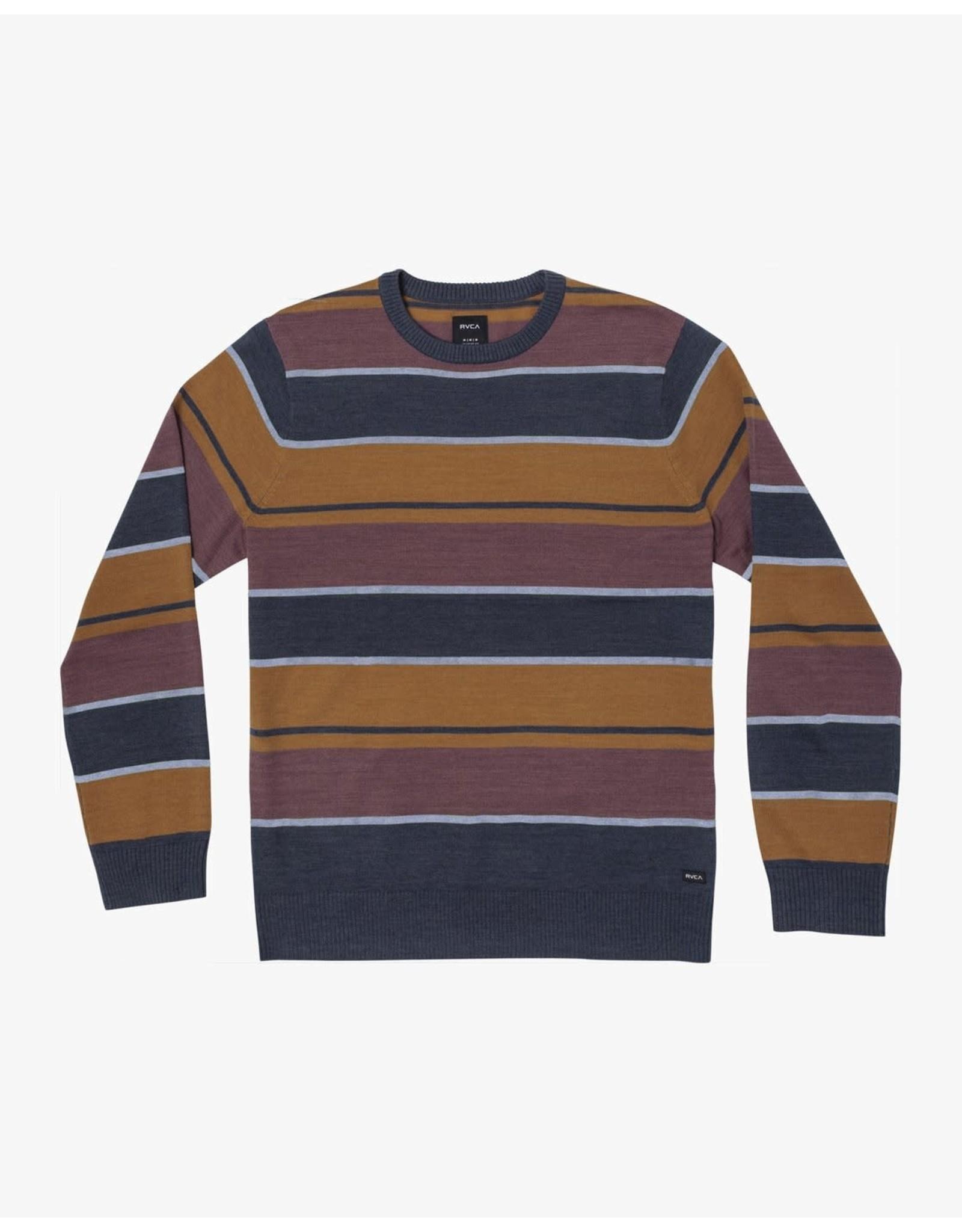 rvca Rvca - Pull junior alex stripe moody blue