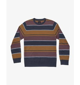 rvca Rvca - Pull junior alex stripe moody blue