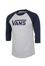vans Vans - Chandail long homme classic raglan athletic heather/dress blue