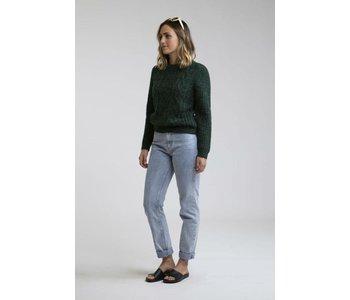 Rhythm - Pull femme valley knit forest