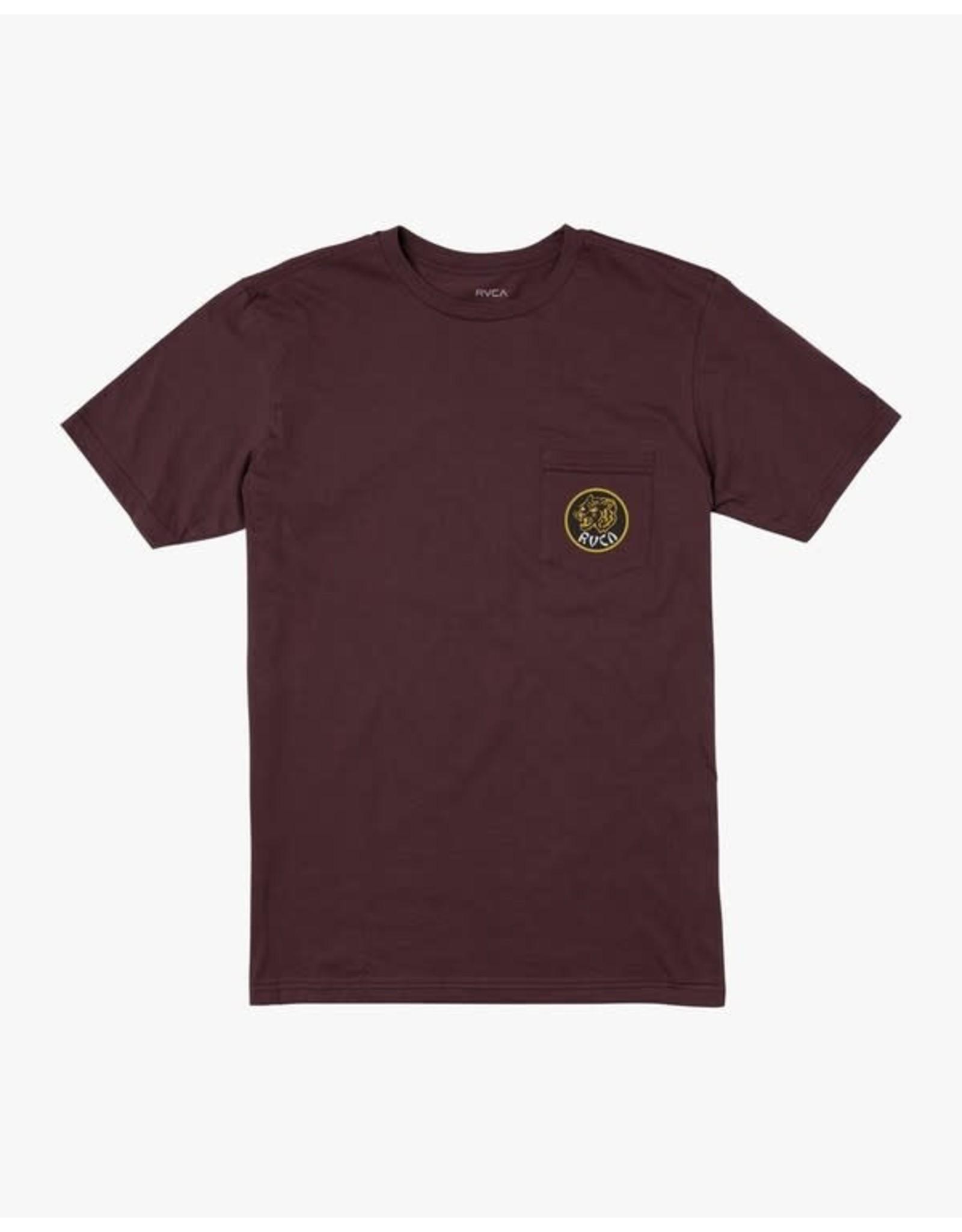 rvca Rvca - T-shirt homme dynasty merlot