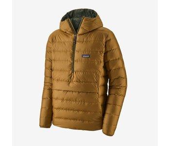 Patagonia - Manteau homme down sweater hoody mulch brown