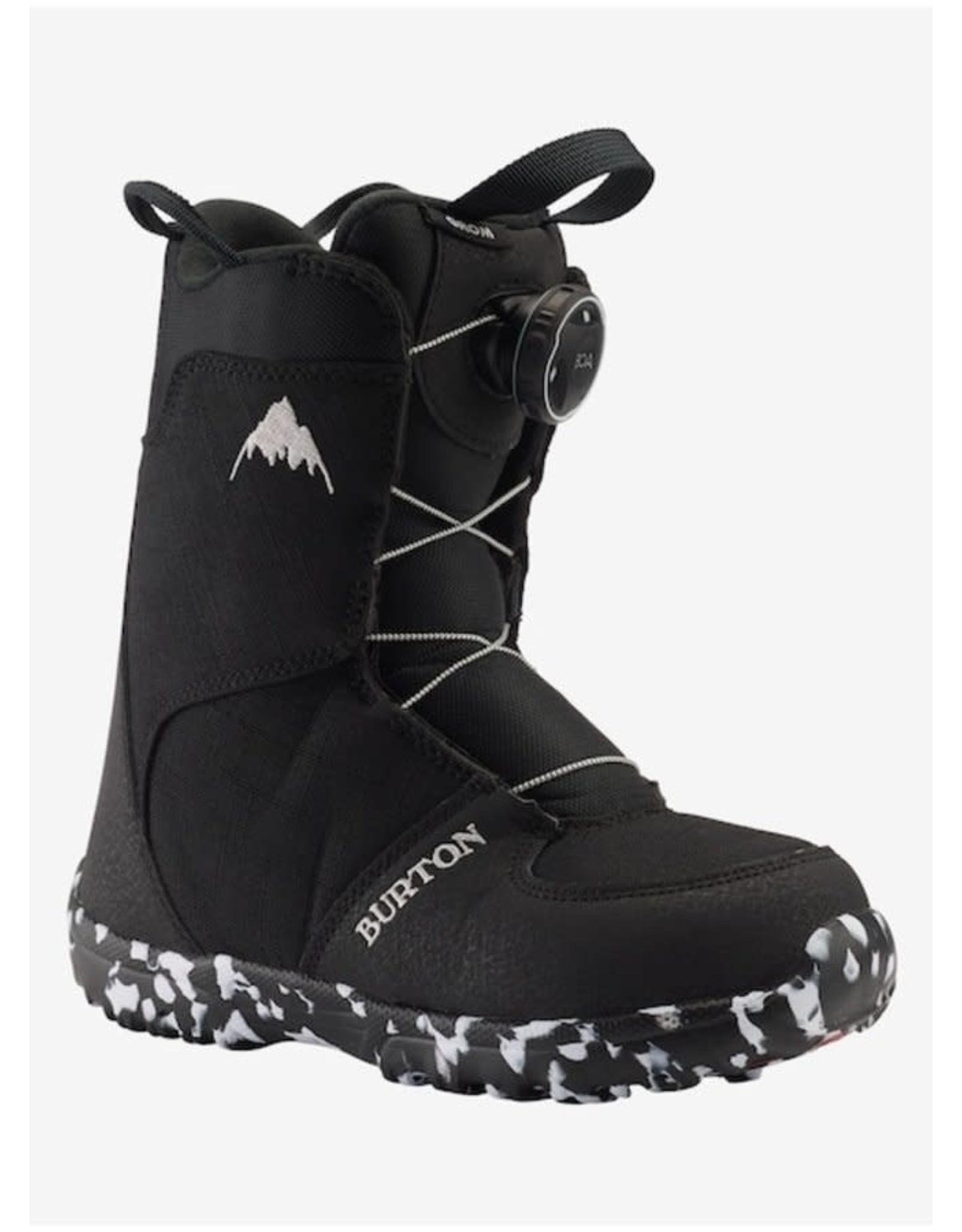 burton Burton - Botte snowboard junior grom boa black
