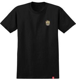 spitfire Spitfire - T-shirt lil big head fill black wtan print