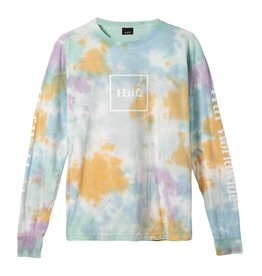 huf Huf - Chandail long homme prism wash domestic white