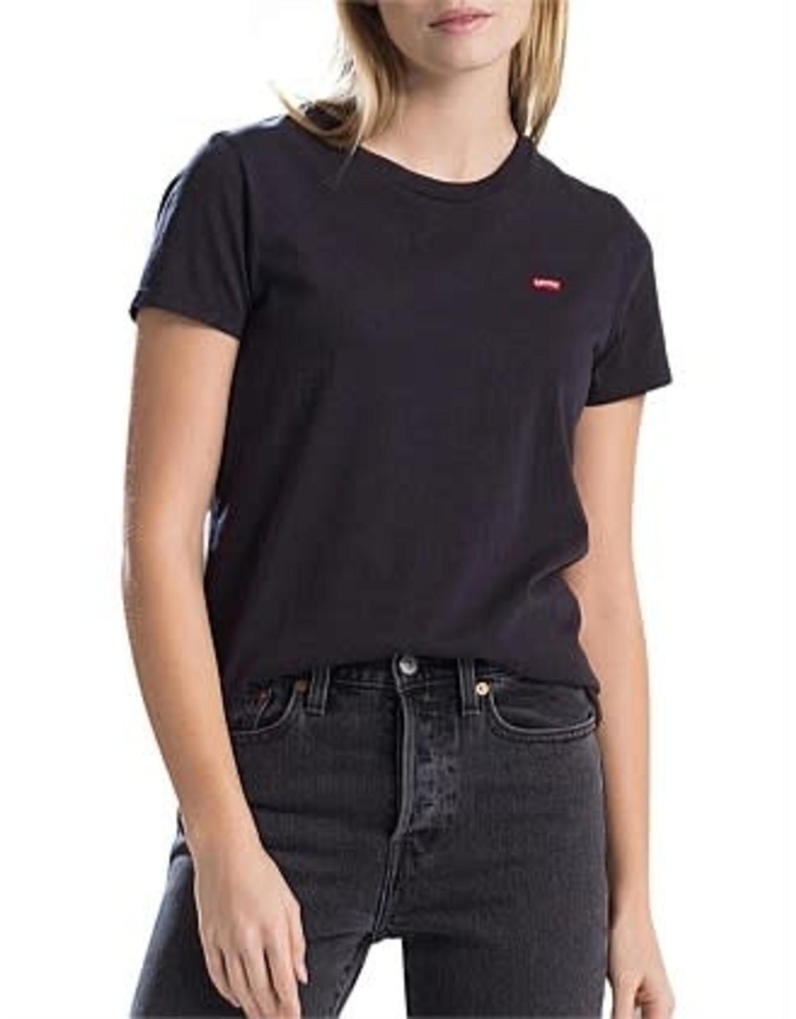 Levi's - T-shirt femme perfect mineral black