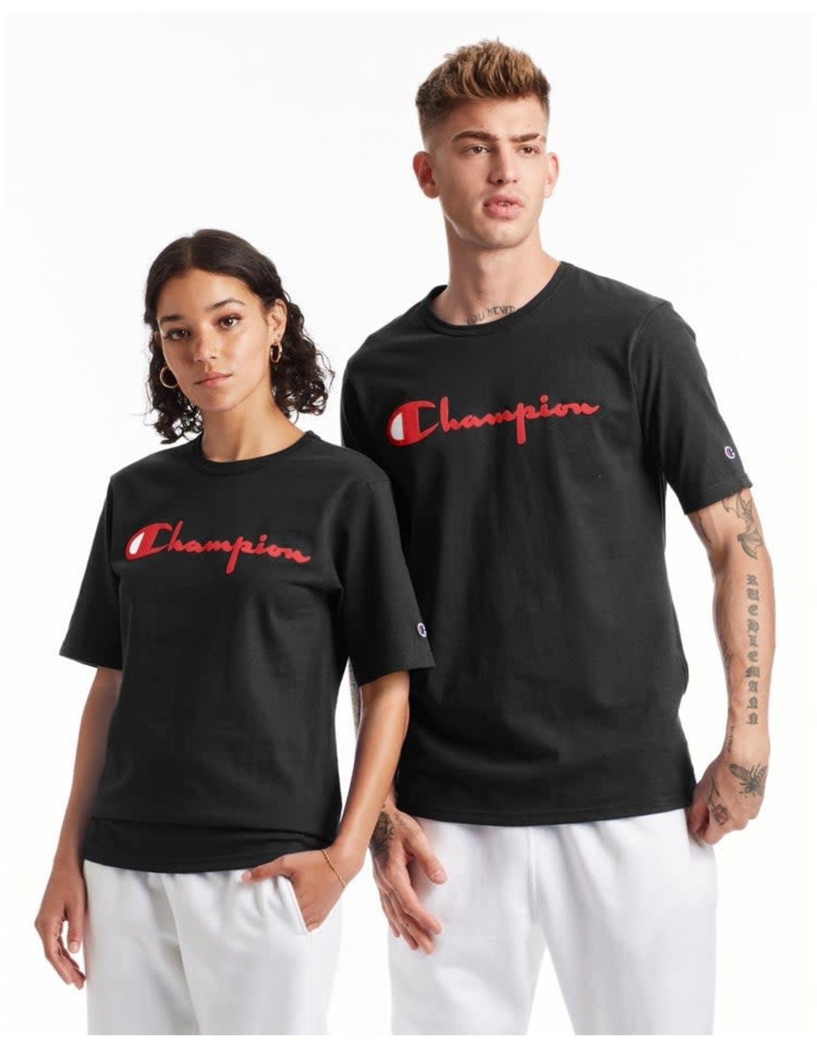 champion Champion - T-shirt homme gt19 black