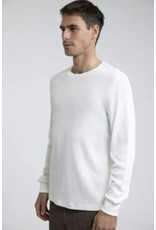 rhythm Rhythm - Chandail long homme essential waffle knit natural