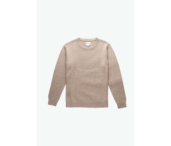 Rhythm - Pull homme blend knit natural