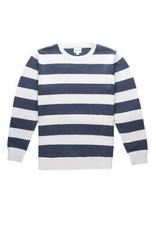 rhythm Rhythm - Pull homme classic stripe knit indigo