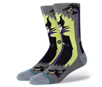 Stance - Bas homme maleficent grey