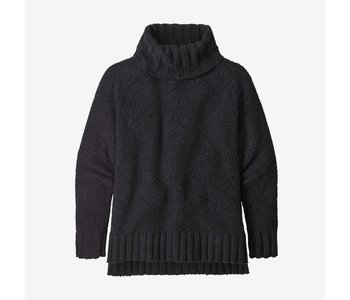 Patagonia - Pull femme off country turtleneck forge grey