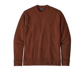 Patagonia - Pull homme recycled wool sisu brown