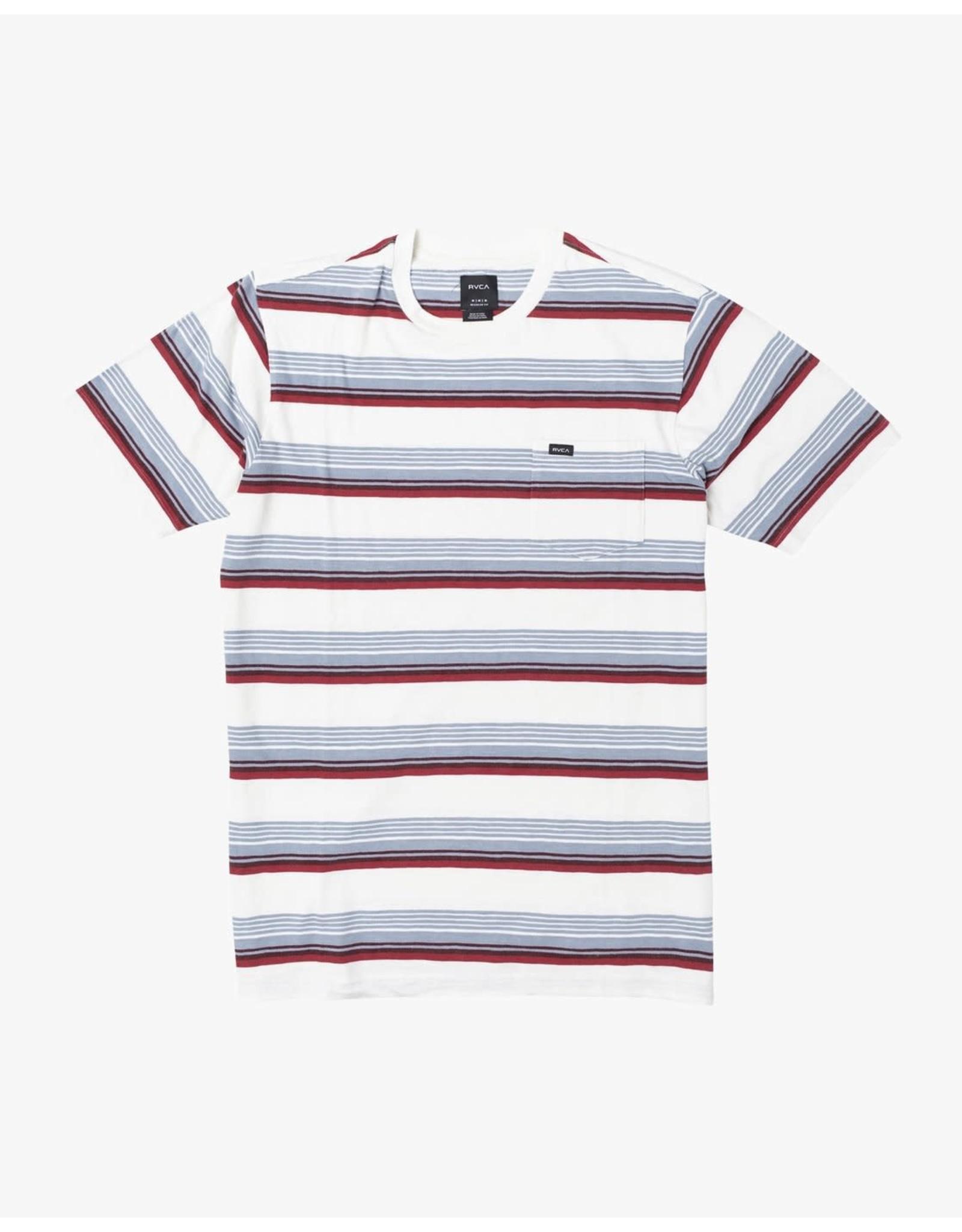 rvca Rvca - T-shirt homme ventura stripe antique white