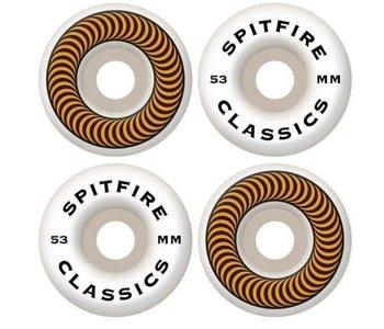 Spitfire - Roue skateboard classics 53mm Orange