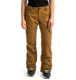 volcom Volcom - Pantalon snowboard femme bridger insulated burnt khaki