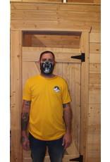 m2 boardshop M2 - T-shirt homme m2 mountain logo gold