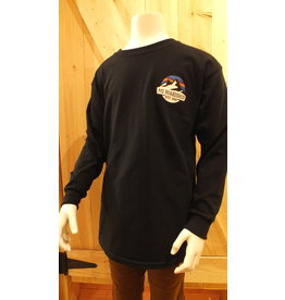 m2 boardshop M2- Chandail long junior m2 mountain logo black
