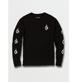volcom Volcom - Chandail long junior deadly stones black