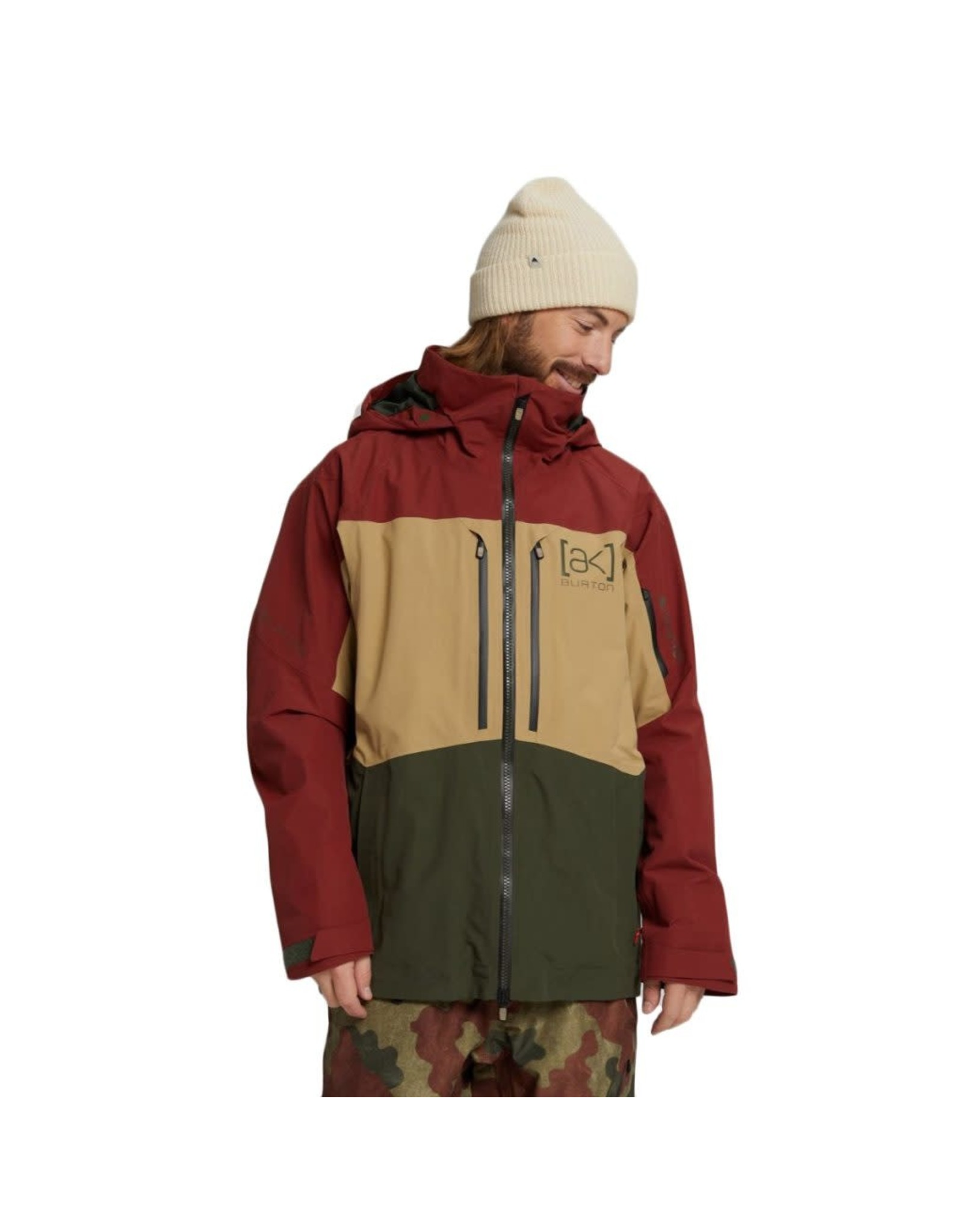 burton Burton - Manteau homme ak gore swash sparrow/kelp/forest night