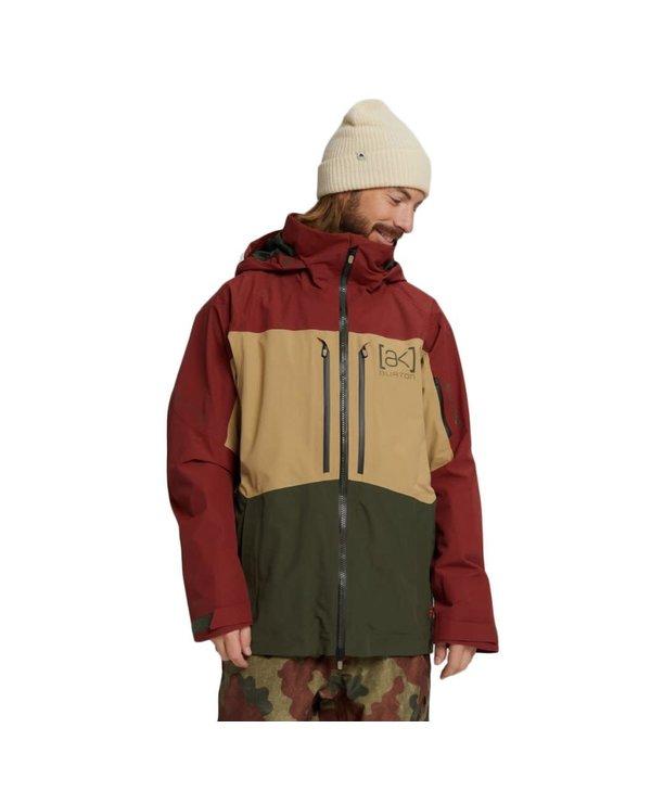 Burton - Manteau homme ak gore swash sparrow/kelp/forest night