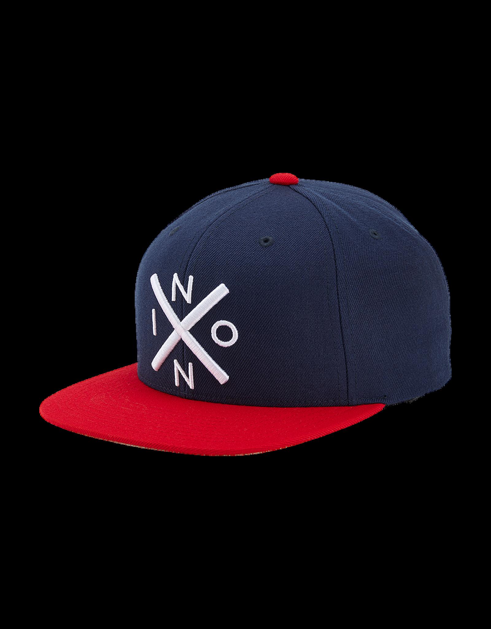 nixon Nixon - Casquette homme exchange snapback navy/red