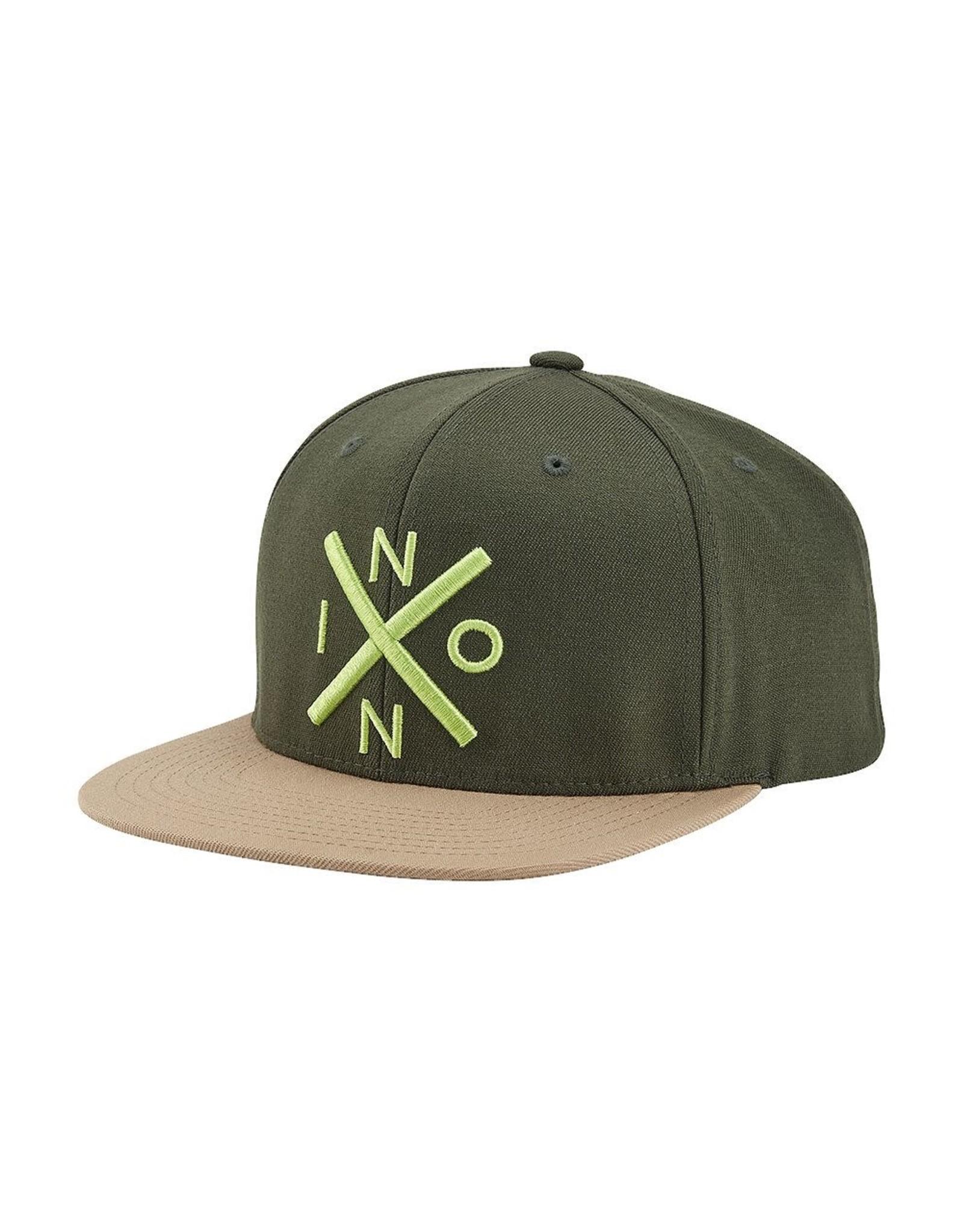 nixon Nixon - Casquette homme exchange snapback olive/khaki