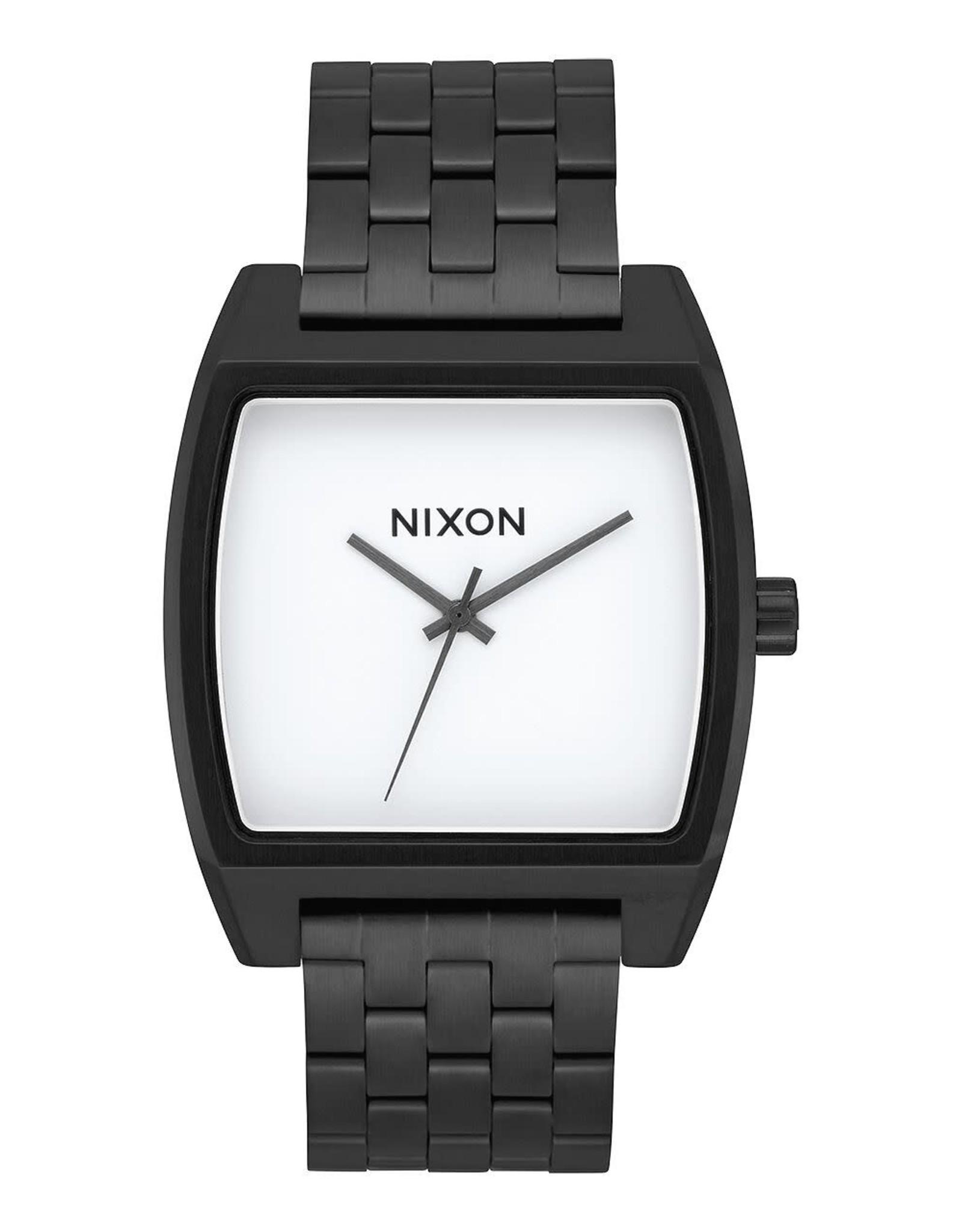 nixon Nixon - Montre homme time tracker black/white