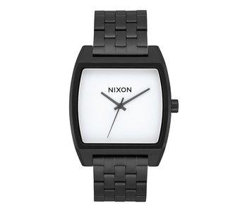Nixon - Montre homme time tracker black/white