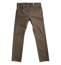 volcom Volcom - Jeans homme solver 5 pocket slub lead