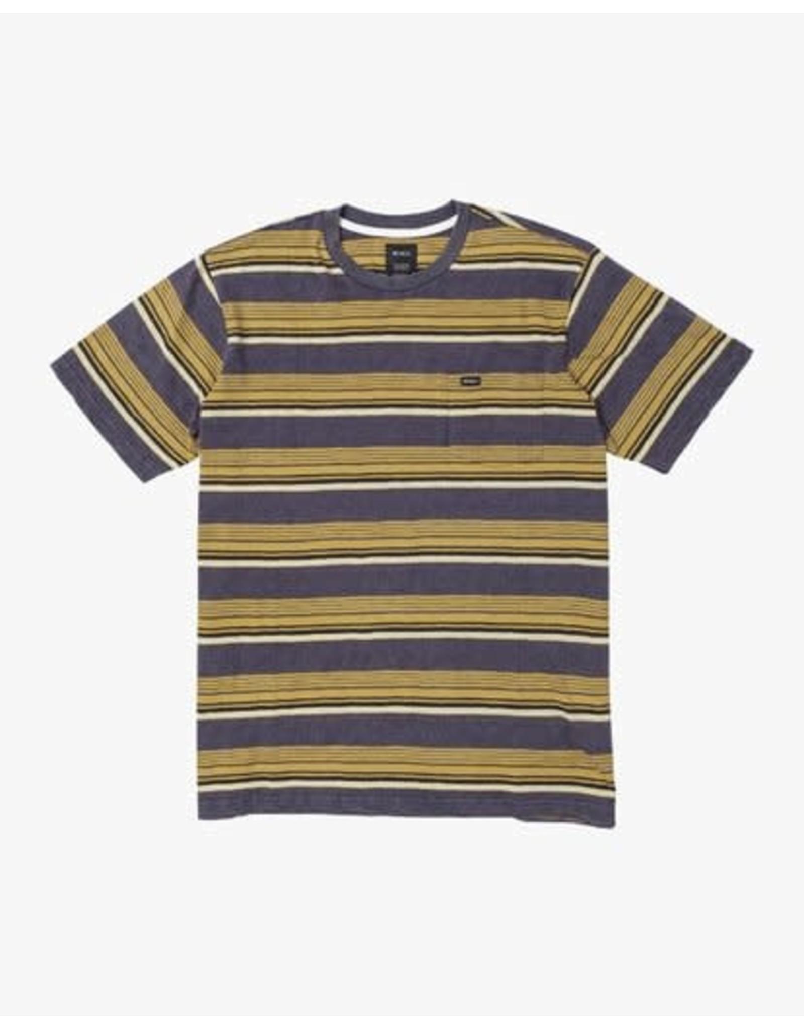 rvca Rvca - T-shirt junior ventura stripe moody blue