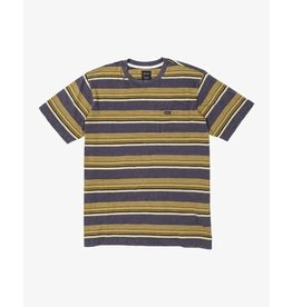 rvca Rvca - T-shirt junior ventura stripe moody blue