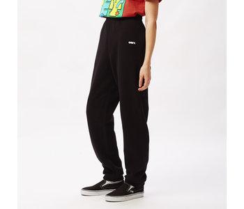 Obey - Pantalon ouaté femme bold box fit black