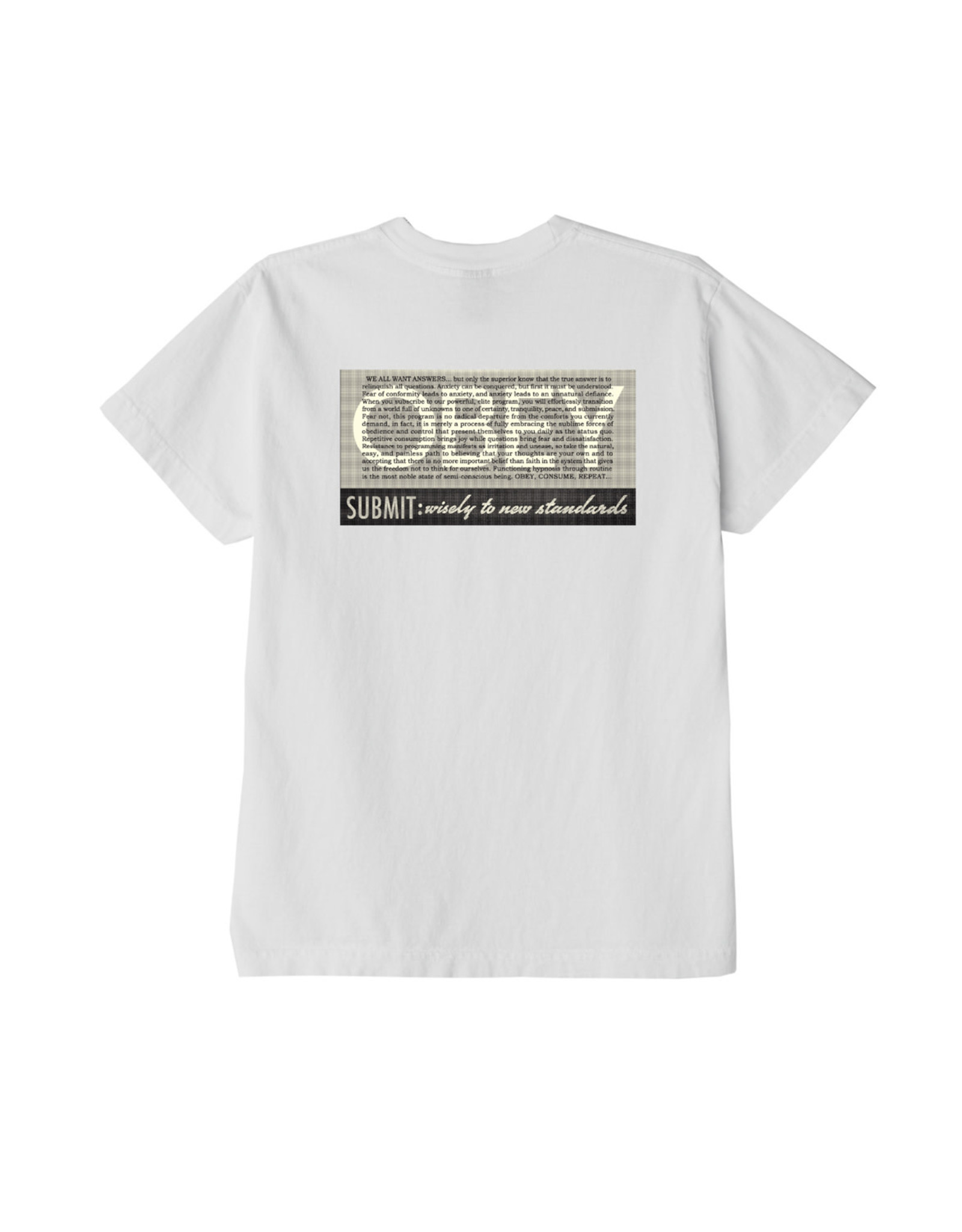Obey Obey - T-shirt femme conformity standard shepard white