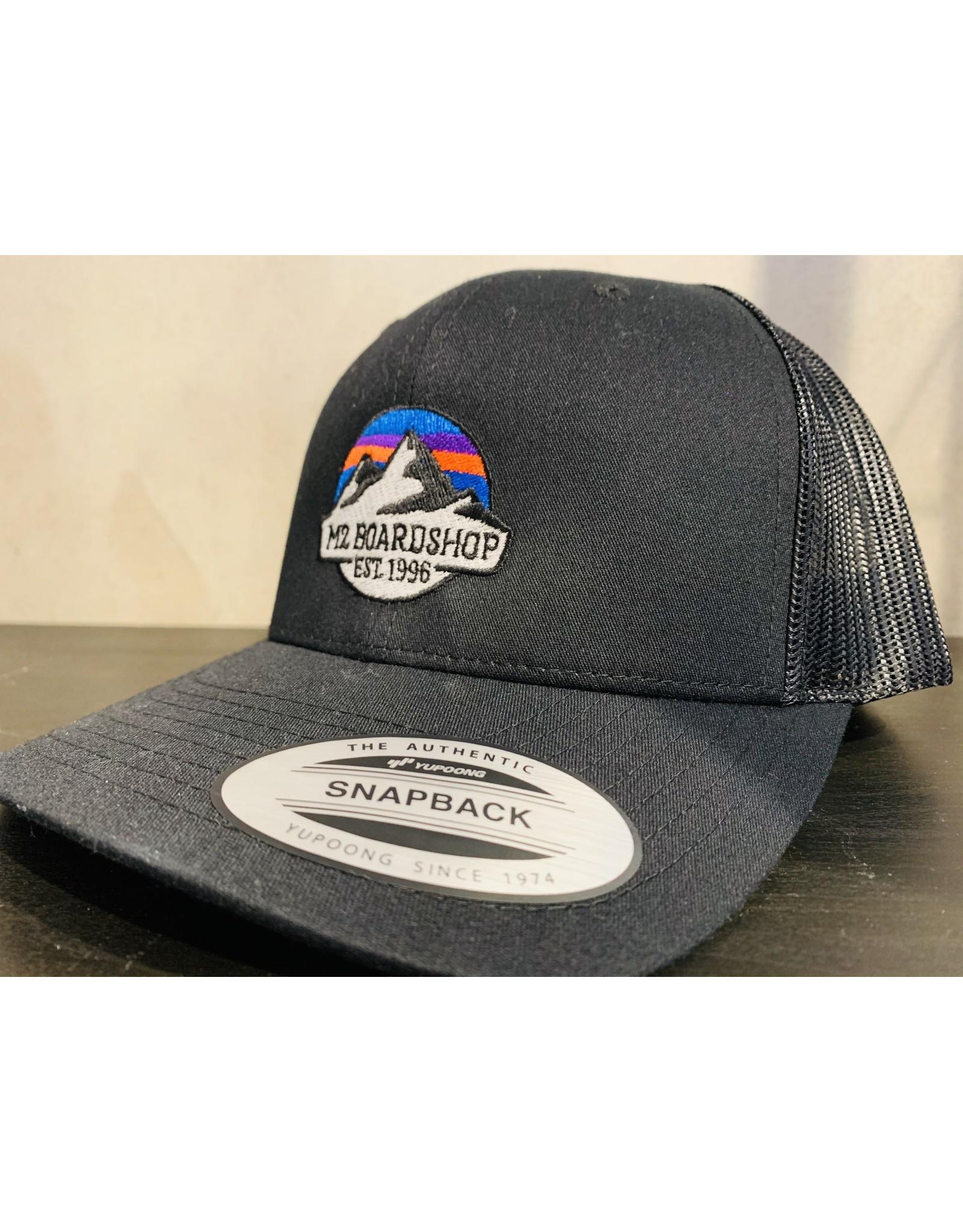 m2 boardshop M2 - Casquette homme m2 mountain logo snapback black