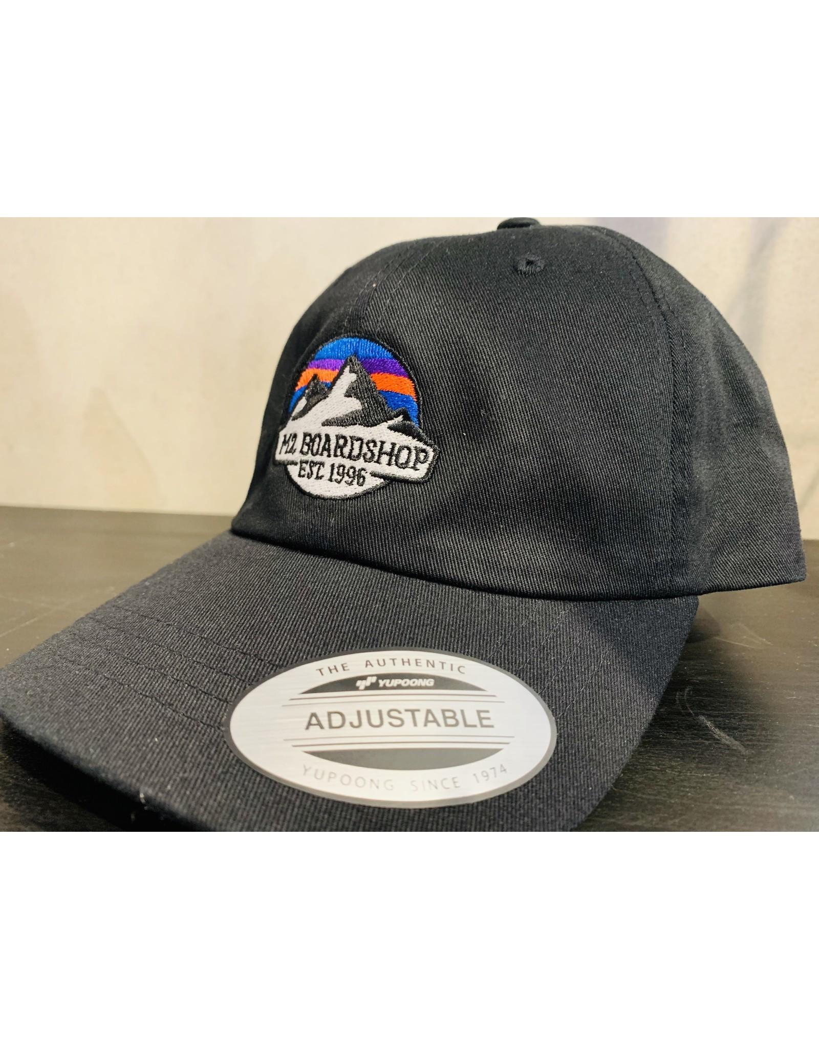 m2 boardshop M2 - Casquette homme dad classic m2 mountain logo black
