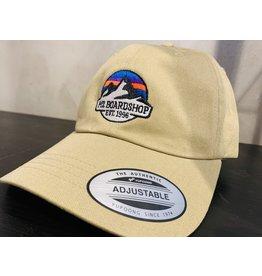 m2 boardshop M2 - Casquette homme dad classic m2 mountain logo khaki