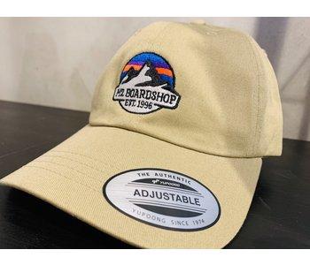M2 - Casquette homme dad classic m2 mountain logo khaki