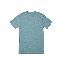 nixon Nixon - T-shirt homme sparrow heather pacific