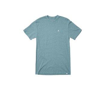 Nixon - T-shirt homme sparrow heather pacific
