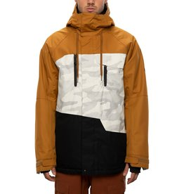 686 686 - Manteau homme  geo insulated golden brown colorblock